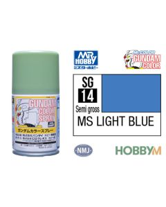 Mr. Hobby, mr-hobby-sg-14-light-blue-100-ml-gundam-color-spray, MRHSG14