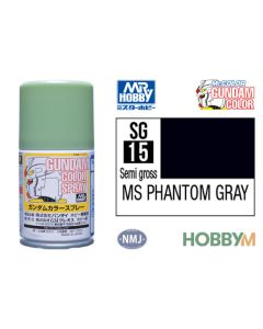 Mr. Hobby, mr-hobby-sg-15-phantom-gray-100-ml-gundam-color-spray, MRHSG15