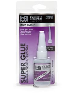 Lim og smøremidler, bob-smith-industries-133h-insta-cure-plus-medium-gap-filling-cyanakrylate-superlim-1-oz-bsi, BSI133H