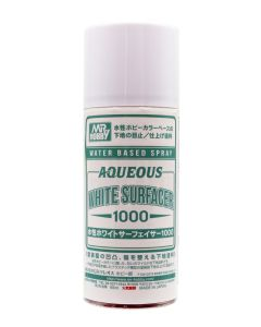 Mr. Hobby, Aqueous Water Based Surfacer 1000 White, 170 ml, MRHB612