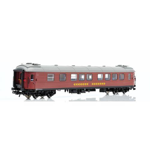 Topline Personvogner, NMJ Topline SJ B12 4972 (ex A2) 2 Cl. Passenger coach, Inter City, NMJT201.203
