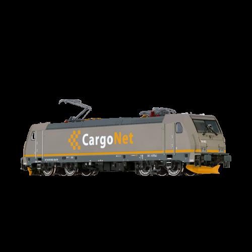 Lokomotiver Norske, brawa-43992-cargonet-ce119-dcc, BRA43992