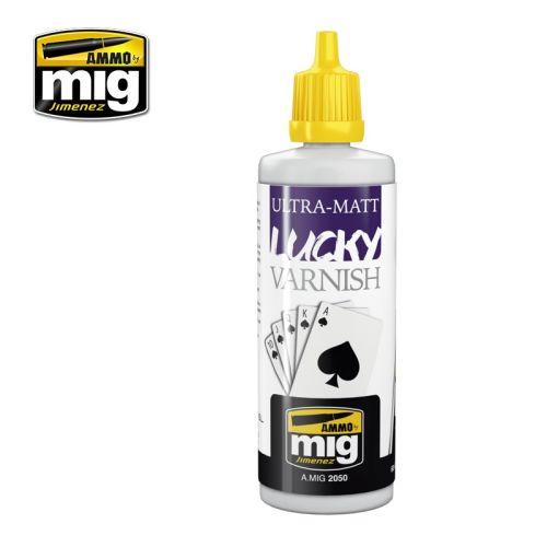 Mig Akrylmaling, ammo-by-mig-jimenez-2050-ultra-matt-lucky-varnish-60-ml, MIG2050