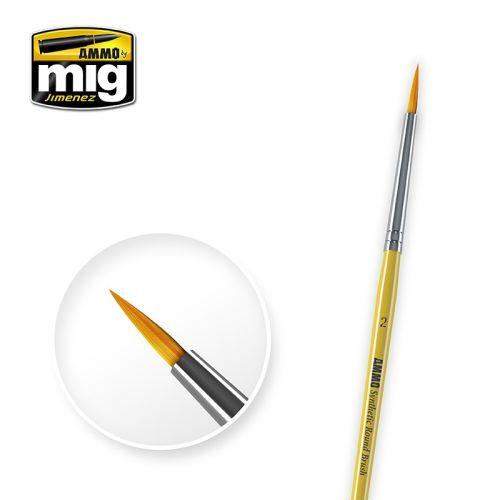 Mig, ammo-by-mig-jimenez-mig-8614-syntetic-round-brush-2, MIG8614