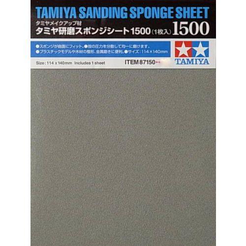 Tamiya, Tamiya Sanding Sponge Sheet 1500, TAM87150