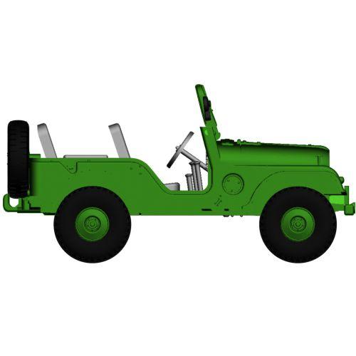 Personbiler, Jeep Universal, Militær utgave, BRE58901