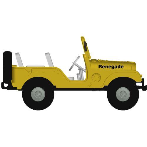 Personbiler, Jeep Universal, Gul, BRE58905