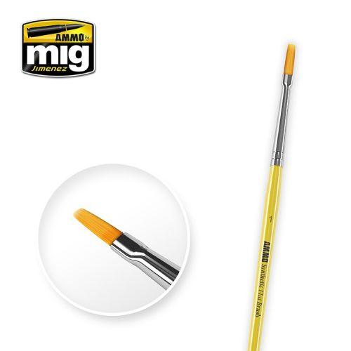 Mig, ammo-by-mig-jimenez-mig-8619-syntetic-flat-brush-1, MIG8619