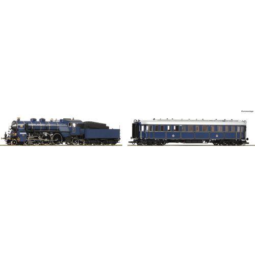 Lokomotiver Internasjonale, roco-61473-s-3-6-prinzregenten-ac, ROC61473