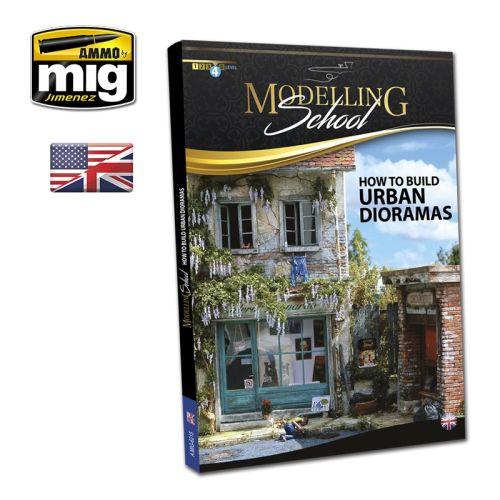 Bøker, ammo-by-mig-jimenez-mig-6215-modelling-school-how-to-build-urban-dioramas-book-english, MIG6215