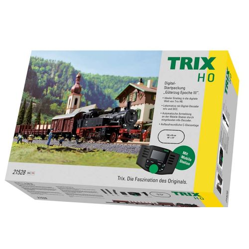 Startsett, trix-21528-dcc-digitalt-startsett-med-db-br-74, TRI21528