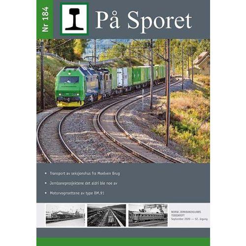 Blader,  På Sporet nr 184, blad, NJKPS184