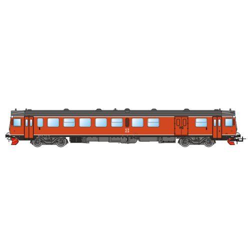 Topline Lokomotiver, nmj-topline-93015-sj-yf1-1329-orange-dc-analogue-h0, NMJT93015