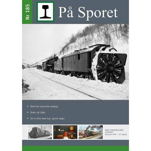 Blader, På Sporet nr 185, blad, NJKPS185
