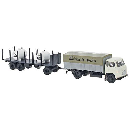 Lastebiler, brekina-85055-scania-vabis-lb-76-norsk-hydro, BRE85055