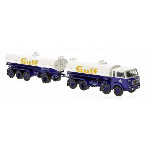 Lastebiler, Fiat 690 Millepiedi Tankbil, Gulf, BRE58457