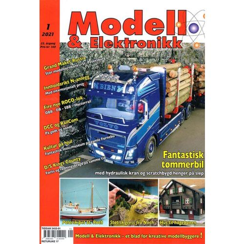 Blader, Modell & Elektronikk 1/2021, Teknisk Hobbyblad, MOE0121