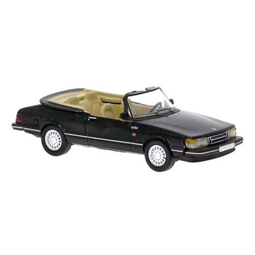 Personbiler, SAAB 900 Cabriolet, Sort, PCX870124