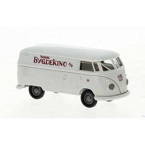 Personbiler, breikna-32745-vw-volkswagen-t1b-varebil-norsk-bygdekino-h0, BRE32745