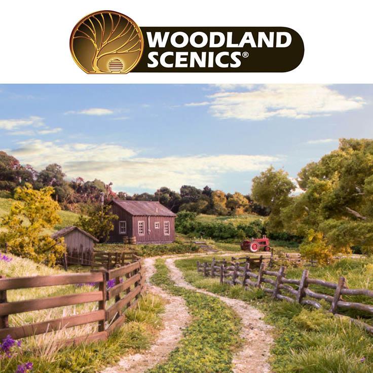 Så vårt utvalg av Woodland Scenics produkter her!