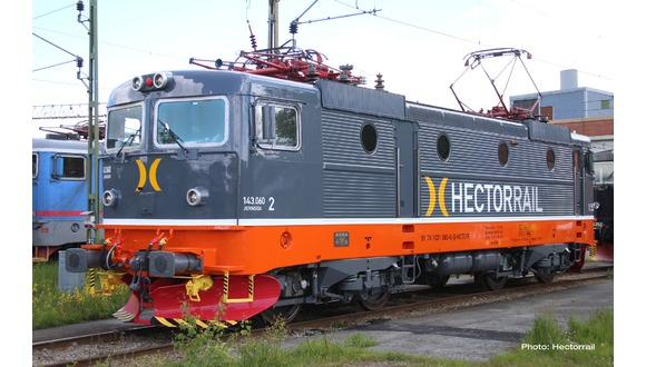 Roco 73442, 73443 og 79443 Hectorrail Rc 3 / 143.059 ellok - DC, DCC og AC med lyd